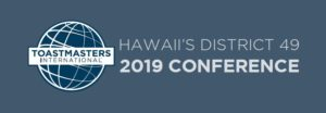 Toastmasters Conference Hawaii