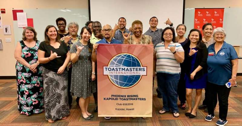 Phoenix Rising Toastmasters group photo