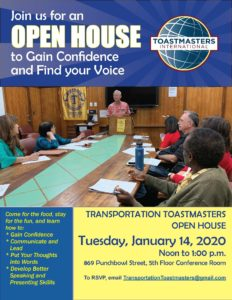 Transportation TM Open House