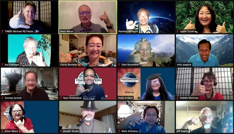 Hawaii Comedy Central Toastmasters