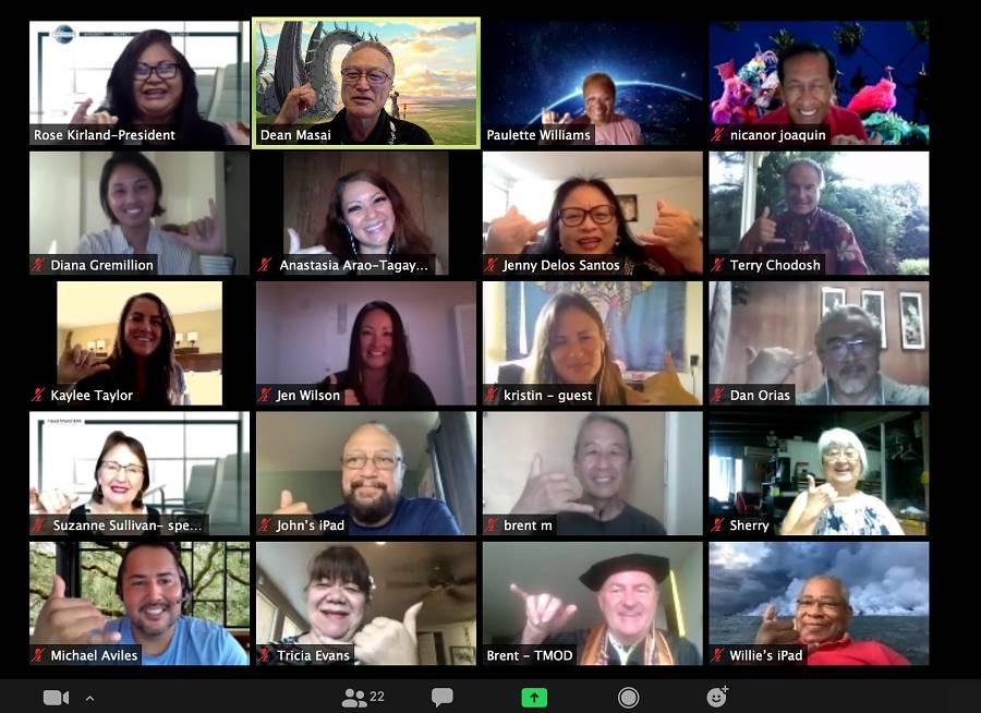 Hawaii Speakers Bureau Virtual Meeting