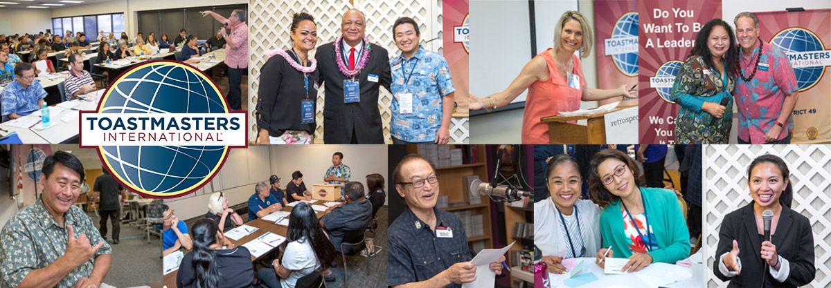 Hawaii Toastmasters 2019