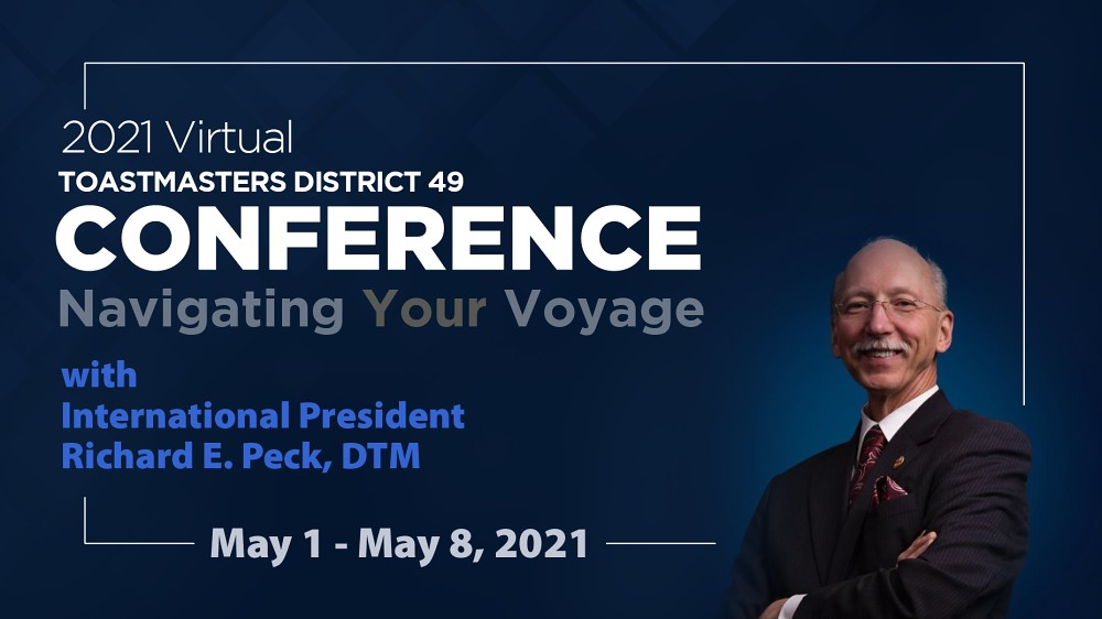 Toastmasters Conference Banner