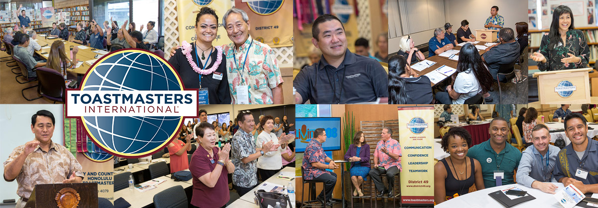 Toastmasters in Hawaii